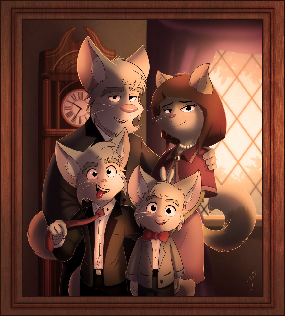 Cashmere Family Portrait